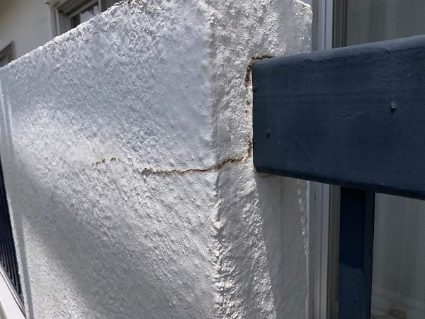 東京都世田谷区 T2様邸 屋根塗装・外壁塗装・防水工事 施工前の状態① 外壁2 (2)