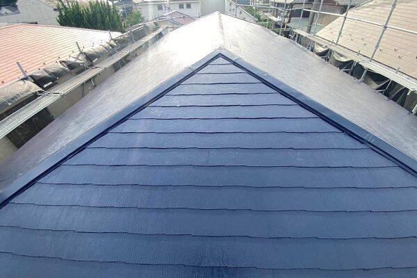 東京都世田谷区 T2様邸 屋根塗装・外壁塗装・防水工事 (1)
