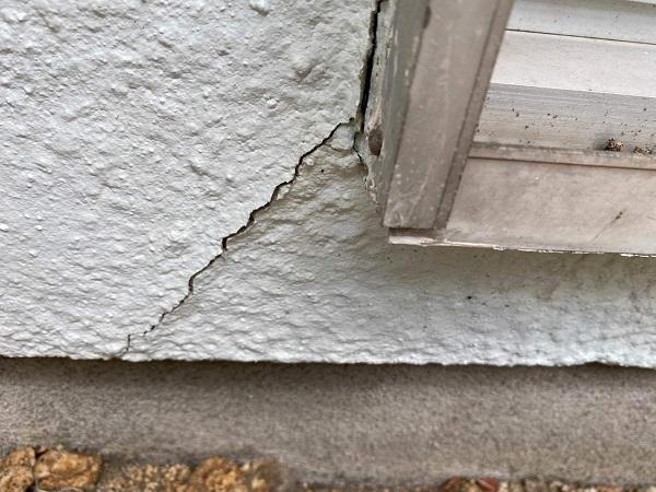 東京都世田谷区 T2様邸 屋根塗装・外壁塗装・防水工事 施工前の状態① 外壁2 (3)