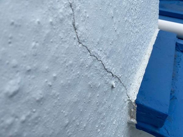 東京都世田谷区 T2様邸 屋根塗装・外壁塗装・防水工事 施工前の状態① 外壁 (2)