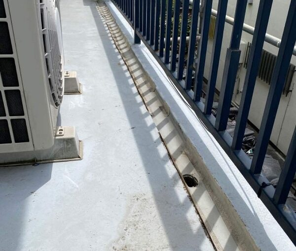東京都世田谷区 T2様邸 屋根塗装・外壁塗装・防水工事 施工前の状態③ 付帯部2 (1)