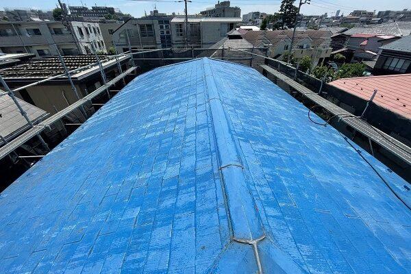 東京都世田谷区 T2様邸 屋根塗装・外壁塗装・防水工事 (2)