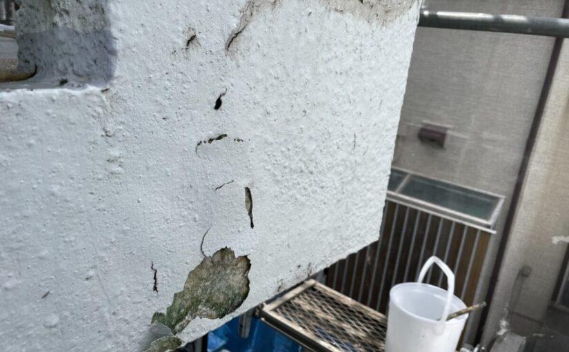 東京都世田谷区 T2様邸 屋根塗装・外壁塗装・防水工事 施工前の状態① 外壁1 (2)
