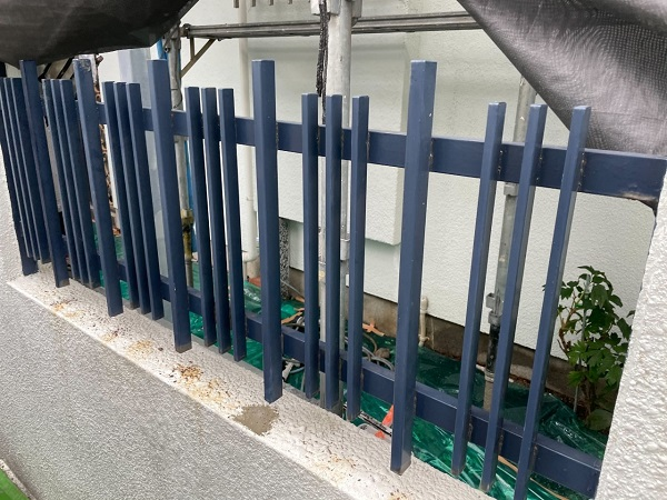 東京都世田谷区 T2様邸 屋根塗装・外壁塗装・防水工事 門塀塗装 霧除け庇塗装 (15)