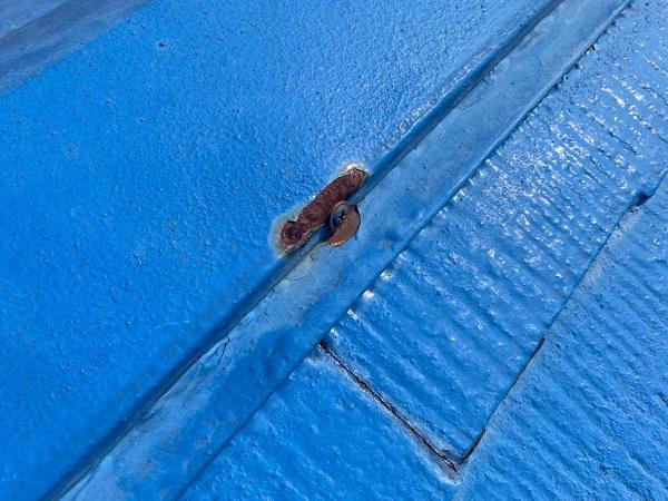東京都世田谷区 T2様邸 屋根塗装・外壁塗装・防水工事 施工前の状態② 屋根1 (1)