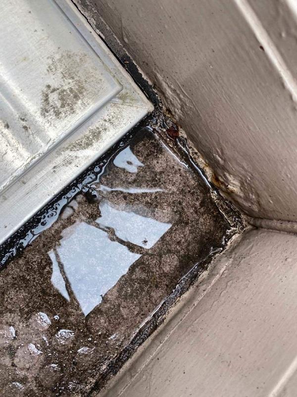 東京都大田区 アパート 屋根塗装・外壁塗装 施工前の状態 (50)