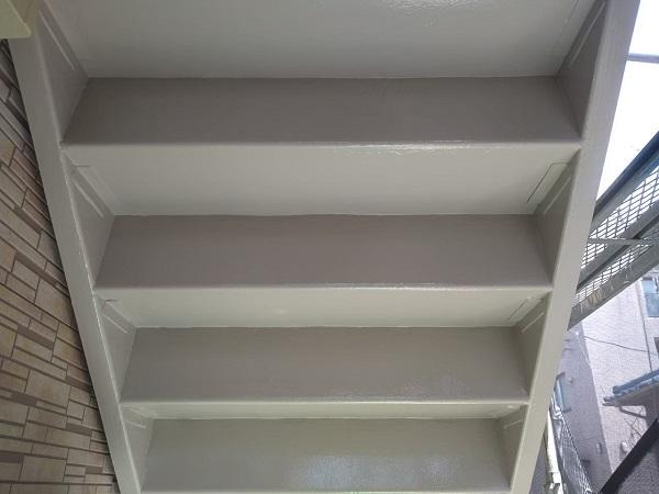 東京都大田区 アパート 屋根塗装・外壁塗装・付帯部塗装 鉄骨階段補修 (27)