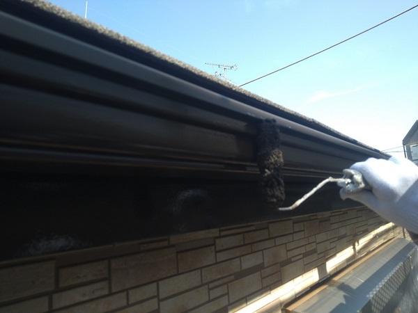 東京都大田区 アパート 屋根塗装・外壁塗装・付帯部塗装 鼻隠し塗装 雨樋塗装 (13)