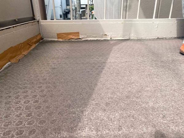 東京都大田区 アパート 屋根塗装・外壁塗装 施工前の状態 (7)