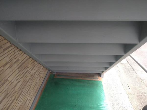 東京都大田区 アパート 屋根塗装・外壁塗装・付帯部塗装 鉄骨階段補修 (30)