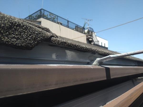 東京都大田区 アパート 屋根塗装・外壁塗装・付帯部塗装 鼻隠し塗装 雨樋塗装 (29)