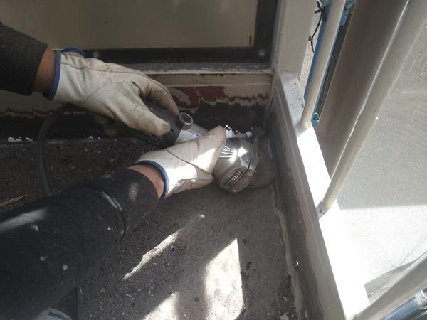東京都大田区 アパート 屋根塗装・外壁塗装・付帯部塗装 鉄骨階段補修 (13)