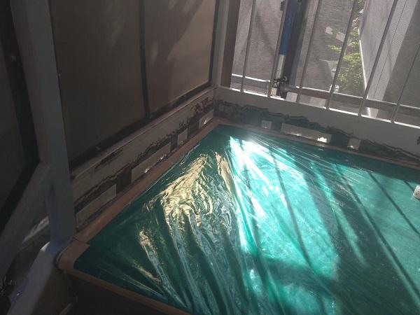 東京都大田区 アパート 屋根塗装・外壁塗装・付帯部塗装 鉄骨階段補修 (11)