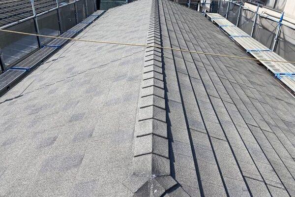 東京都大田区 アパート 屋根塗装・外壁塗装・付帯部塗装 (2)