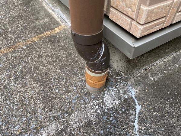 東京都大田区 アパート 屋根塗装・外壁塗装 施工前の状態 (18)