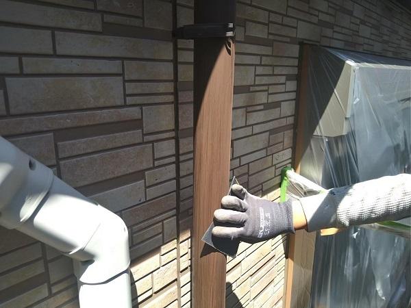 東京都大田区 アパート 屋根塗装・外壁塗装・付帯部塗装 鼻隠し塗装 雨樋塗装 (28)