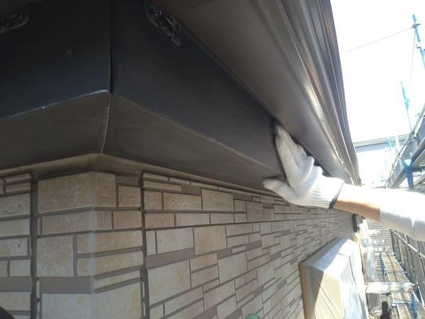 東京都大田区 アパート 屋根塗装・外壁塗装・付帯部塗装 鼻隠し塗装 雨樋塗装 (30)
