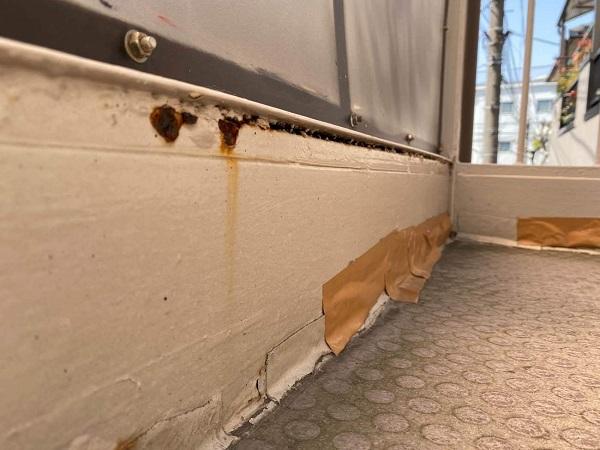 東京都大田区 アパート 屋根塗装・外壁塗装 施工前の状態 (48)