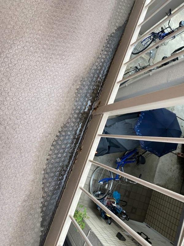 東京都大田区 アパート 屋根塗装・外壁塗装 施工前の状態 (56)