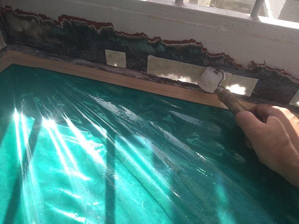 東京都大田区 アパート 屋根塗装・外壁塗装・付帯部塗装 鉄骨階段補修 (12)