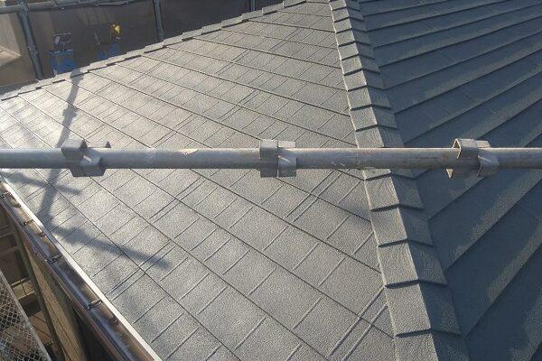 東京都大田区 アパート 屋根塗装・外壁塗装・付帯部塗装 (1)