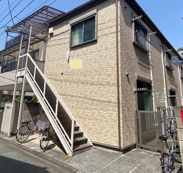 東京都大田区 アパート 屋根塗装・外壁塗装 施工前の状態 (43)