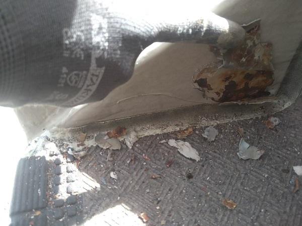 東京都大田区 アパート 屋根塗装・外壁塗装・付帯部塗装 鉄骨階段補修 (1)
