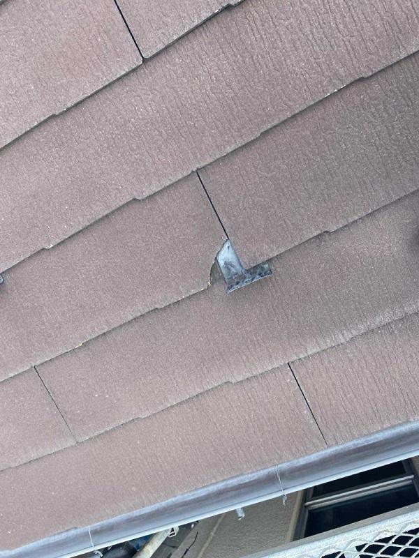 東京都北区 N様邸 雨漏り補修・屋根重ね葺き工事・外壁塗装 屋根の構造 ルーフィング (2)