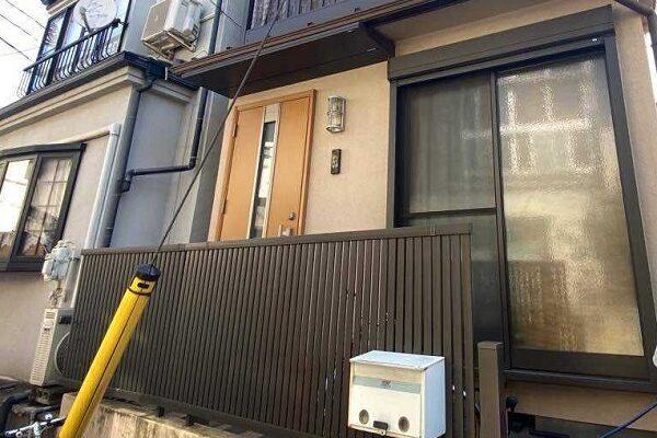 東京都北区 N様邸 雨漏り補修・屋根重ね葺き工事・外壁塗装・付帯部塗装 (1)