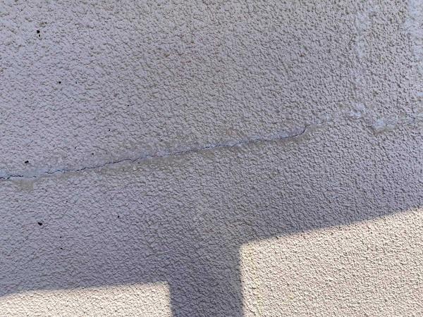 東京都北区 N様邸 雨漏り補修・屋根重ね葺き工事・外壁塗装 劣化補修 ひび割れ(クラック) (1)