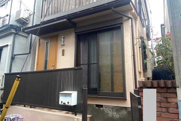 東京都北区 N様邸 雨漏り補修・屋根重ね葺き工事・外壁塗装・付帯部塗装 (2)