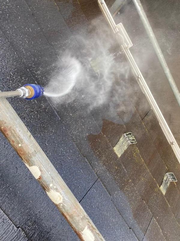 東京都杉並区 N様邸 屋根塗装・外壁塗装 塗装工事の下地処理って何 高圧洗浄 (3)