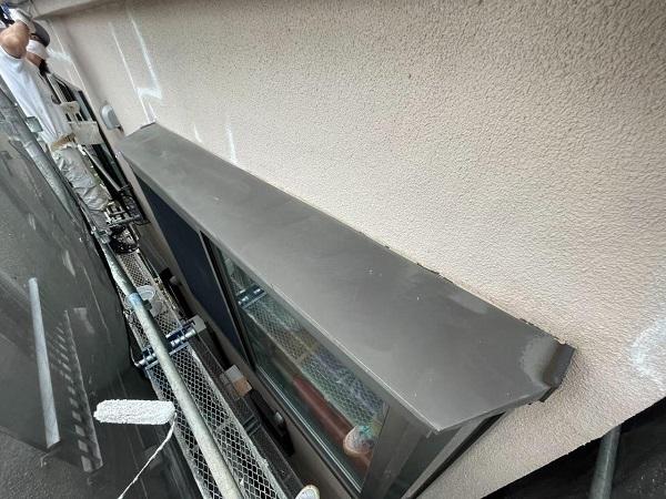東京都北区 N様邸 雨漏り補修・屋根重ね葺き工事・外壁塗装 出窓の屋根塗装 劣化しやすい理由 (2)
